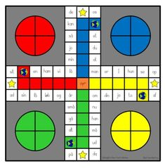 Ludo med de 120 ord i 3 forskellige sværhedsgrader. English Primary School, Teaching English, School Items, Play To Learn, Teaching Math, Kids And Parenting, Literacy, Classroom, Teacher