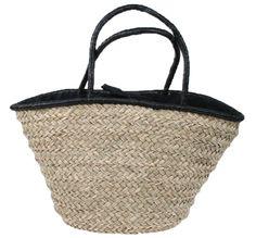 Bag Wicker Black