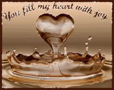 You fill my heart with joy