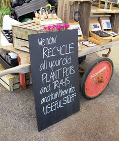 Burford Garden centre will recycle and upcycle