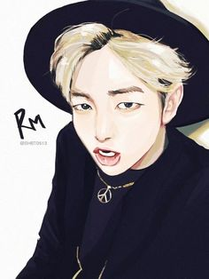 BTS Fan Arts Rap Monster