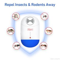 Access Control Kits Honest Portable Intelligent Electronic Ultrasonic Mosquito Insect Repellent Pest Reject Insect Killer Adjustable Frequencies Usb Charg Security & Protection