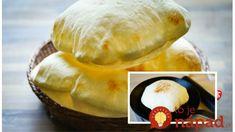 Pita Bread - pan / ovenbaked - you can turn on the english subtitles Leek Recipes, Sauce Recipes, Vegan Recipes, Cooking Recipes, Bread Bun, Pita Bread, Baba Recipe, Pain Pita, Bread Dishes