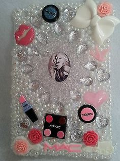 IPAD MINI MARILYN MONROE Swarovski Case Cover Handmade Rhinestones Homemade