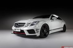 Mercedes-Benz E-Class Copue by Prior Design  PD850 Black Edition #mbhess #mbcars #mbtuning #priordesign
