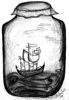 Bildergebnis für ship imaginary people doodles tumblr