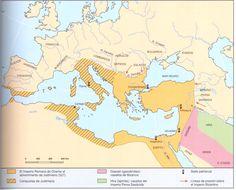 """Hoy en 476 terminó """"oficialmente"""" el Imperio Romano de Occidente. Su olvidado hermano oriental viviría 1000 años más. 9/04/2016 @elOrdenMundial"""