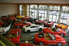 not a dealership but a private collection. Mr. Armen