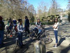 """Tour du """"Meilleur de #Bordeaux à vélo# avec une classe américaine venue d'Eagle Rver au Canada. Que du bonheur..! :) #BdxBikeTour #Bordeaux #Bordeaux"""