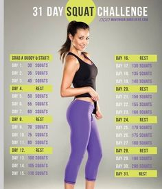 1 Month Squat Challenge !! AMAZING. Don't forget to like my tips :) #Health #Fitness #Trusper #Tip