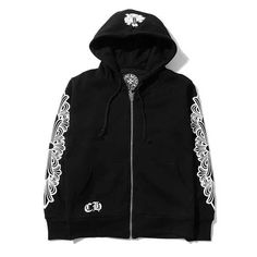 02489ba5ce5 Chrome Hearts With Back Horseshoes Black Hoodies Sale