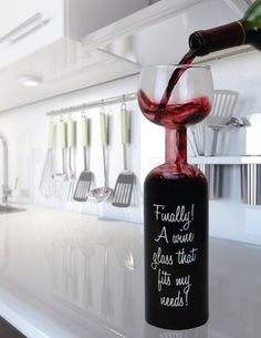 Funniest christmas gift for wine lovers: Ultimate Wine Bottle for $16.95  ...Christmas gifts, christmas gift ideas, gift ideas, gifts, funny gifts