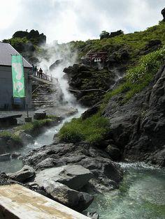 Sukawa hot spring, Japan... I really want to go to a hot spring.