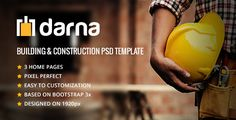 Darna-  Building & Construction PSD Template (Business) Download   #architecture #builder #building #company #construction #constructor #contractor #electrician #engineer #handyman #industry #painter #plumber #renovation #roofing http://w7download.com/darna-building-construction-psd-template-business-download