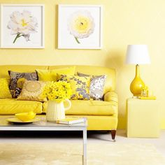 yellow interior -- Curated by: Modern Paint & Floors | 102-1875 Spall Rd Kelowna (BC) V1Y 4R2 | 250 860 2444