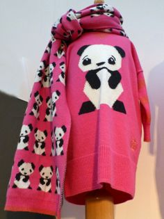Panda designs at Bonnie Baby for baby fashion fall/winter 2014 at Brilliant Little Britain