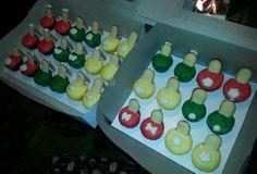 Stiletto cupcakes -Flour de Lis custom cakes and treats-OKLAHOMA paulkandrea@yahoo.com www.facebook.com/flourdelisandrea