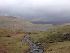 Lake District UK England. Walking. Hills. Countryside.