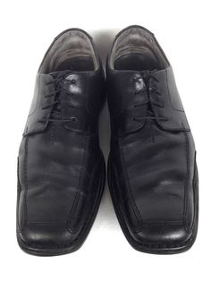 Clarks Shoes Mens 10.5 Black Leather Oxfords #Clarks #Oxfords