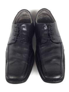 Clarks Shoes Mens 10.5 Black Leather Oxfords #Clarks #Oxfords