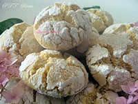 Ghoriba biscotti marocchini con semola - Ricette marocchine