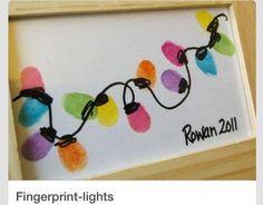 Fingerprint lights