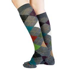 ✔ Multi Colored Argyle Socks