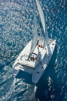 I'd give up my home for a life on a Catamaran