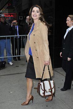 """Queen Rania Photo - Queen Rania of Jordan at """"Good Morning America"""" Studios"""