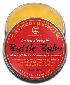 Battle Balm Full Size - Extra Strength - Martial Art Market