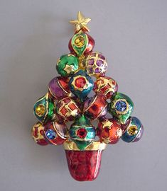 Винтажные рождественские украшения - Интересное и забытое - быт и курьезы прошлых эпох.