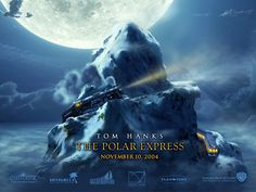 One of my favourite christmas movies.  The Polar Express!