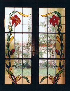 Vitraux en plomo - Rubén Ponti - Vitraux, diseño y restauración de vitrales