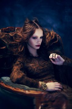 Gothic Beauty – Models Ran and Maya grace the pages of Dress to Kill Magazine in a Gothic-inspired photo shoot by Shayne Laverdière. Stylist Isabelle Soucy dresses the girls in black lace, fur, shimmering dresses and accessories for the editorial, which looks sexy, mysterious and oh-so-chic. Creative director Nicolas Blanchet also creates the pair's glamorous tresses and moody makeup.