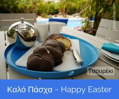 Good Friday - Tsoureki Time! This delicious sweet buttery brioche-style bread is one of our favourite Greek Easter treats. Naughty, but nice! Circular ones usuallyfeaturea dyed-red egg to represent the blood of Christ. Our Lidl version is extremely decadent with chocolate coating and custard centre.  Kaló Páscha!  Post and pic: Nikki at pissouribay.com  #greekeaster #cypruseaster #orthodoxeaster #tsoureki #tsourekia