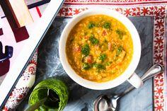 Quick Red Soup: Paprika, Lentil and Tomato Soup @HemsleyHemsley