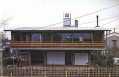 House at Hamadayama 1965|浜田山の家 吉村順三