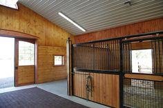 Equestrian | 6 stall barn in Hammonton NJ | Quarry View Construction
