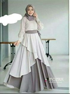 Party Gamis Models For Fat Women Trendy Dresses, Modest Dresses, Simple Dresses, Casual Dresses, Abaya Fashion, Modest Fashion, Fashion Dresses, Hijab Style Dress, Dress Outfits
