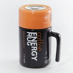 Coffee Mug - recharge your batteries with a coffee