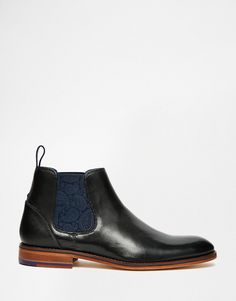 Image 2 ofTed Baker Camroon Leather Chelsea Boots