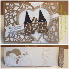 StampinUp, Hochzeit Karte mit Florale Fantasie...