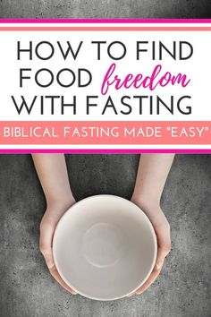 While Biblical fasting is never easy, this method can fit into your daily life and help you walk by faith into more food freedom today! See what the scriptures have to say for Christian believers!