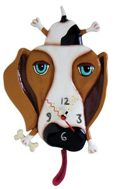 Kooky Canine Clocks