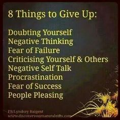 im free and letting go of these 8 things!
