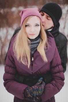 Monika  Michaels snow white engagement shoot