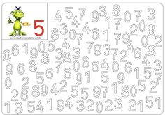 Tipss und Vorlagen: Numbers coloring pages free printable preschool Numbers For Kids, Numbers Preschool, Learning Numbers, Preschool Math, Kindergarten Worksheets, Activities For Kids, Kids Worksheets, Math For Kids, Fun Math