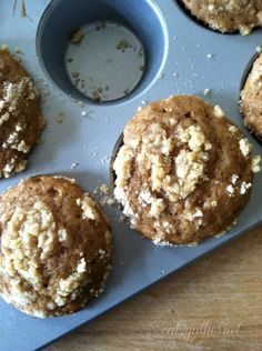 Dutch Applesauce Muffins from @Sheila Johnson