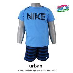 Conjunto Summer Knit Bebe Celeste/Francia/Marino  Marca: Nike 510020465358462   $ 299,00 (U$S 51,55)