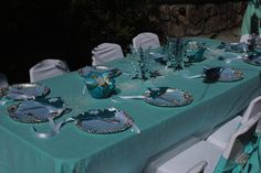 48 best Frozen Party Table settings images on Pinterest | Birthday ...